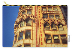 Carry-all Pouch featuring the photograph Echoes Of Another Era - Park Avenue Beauty by Miriam Danar