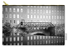 Echoes Of Mills Past Carry-all Pouch by Greg Fortier