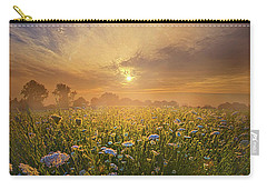 Echos The Sound Of Silence Carry-all Pouch by Phil Koch