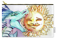 Eclipse Dragon Sun Eater Carry-all Pouch