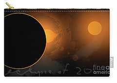 Eclipse Of 2017 W Carry-all Pouch