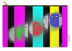 Eclipse Of Love Carry-all Pouch