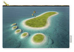 Eco Footprint Shaped Island Carry-all Pouch