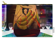 Carry-all Pouch featuring the photograph Ecuadorian Vase Art by Al Bourassa