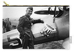 Eddie Rickenbacker - Ww1 American Air Ace Carry-all Pouch