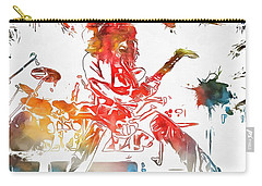 Eddie Van Halen Paint Splatter Carry-all Pouch