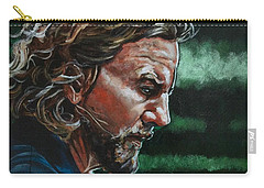 Eddie Vedder Carry-all Pouch by Joel Tesch
