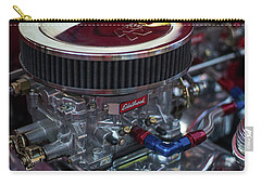 Edelbrock And Chevy Carry-all Pouch by Mike Reid