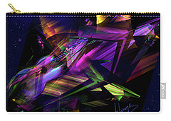 Carry-all Pouch featuring the painting Edge Of The Universe by DC Langer