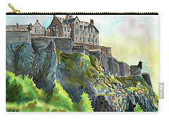 Edinburgh Castle From Princes Street Carry-all Pouch