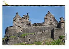 Carry-all Pouch featuring the photograph Edinburgh Castle by Jeremy Lavender Photography