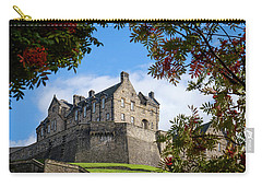 Carry-all Pouch featuring the photograph Edinburgh Castle by RKAB Works