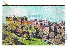 Edinburgh Castle Skyline No 2 Carry-all Pouch