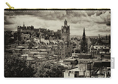 Carry-all Pouch featuring the photograph Edinburgh In Scotland by Jeremy Lavender Photography
