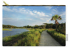 Carry-all Pouch featuring the photograph Edisto by Jessica Brawley