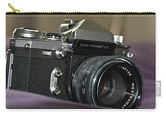 Carry-all Pouch featuring the photograph Edixa Prismat L T L by John Schneider