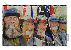 Edmund Ruffin Fire Eaters Color Guard 2016 Carry-all Pouch