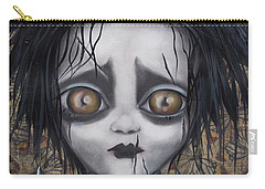 Edward Scissorhands Carry-all Pouch by Abril Andrade Griffith