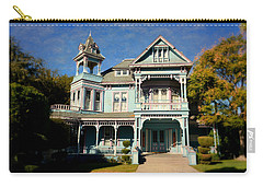 Edwards Mansion - Small Town America Carry-all Pouch