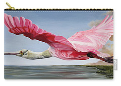Edward's Roseate Spoonbill Carry-all Pouch