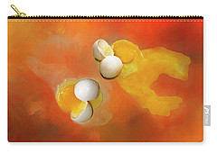 Carry-all Pouch featuring the photograph Eggs by Carolyn Marshall