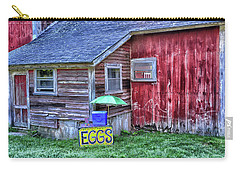 Eggs Carry-all Pouch by Mike Martin