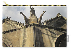 Eglise Saint-severin, Paris Carry-all Pouch by Christopher Kirby