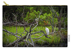 Egret At Pine Knoll 2 Carry-all Pouch