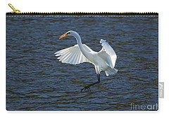 Egret Fishing Carry-all Pouch