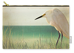 Egret In Morning Light Carry-all Pouch
