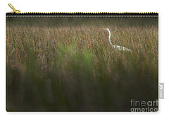Egret In Swamp-2-0711 Carry-all Pouch