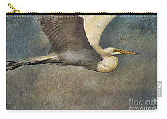 Egret Journey Carry-all Pouch