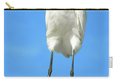 Egret Focused And Poised Carry-all Pouch