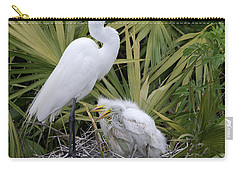Egret Nest Carry-all Pouch