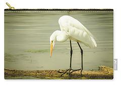 Egret Portrait Carry-all Pouch