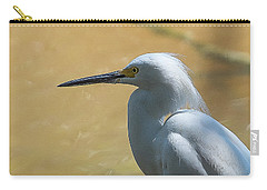 Egret Pose Carry-all Pouch