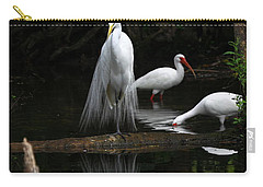 Egret Reflection Carry-all Pouch
