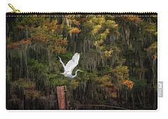 Egret Sanctuary Carry-all Pouch
