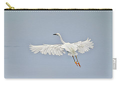 Egret Takes Flight Carry-all Pouch