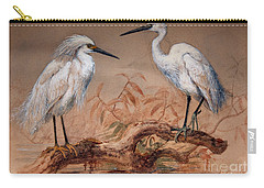 Egrets Carry-all Pouch