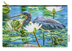 Egretta Tricolor Carry-all Pouch