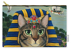 Egyptian Pharaoh Cat - King Of Pentacles Carry-all Pouch