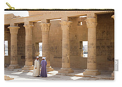 Carry-all Pouch featuring the photograph Egyptians by Silvia Bruno