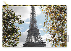 Eiffel From Avenue De New York Carry-all Pouch by Christopher Kirby
