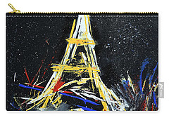 Eiffel Carry-all Pouch by Gary Smith