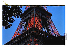 Eiffel Tower Carry-all Pouch by Juergen Weiss
