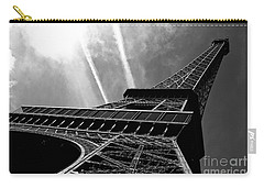 Eiffel Tower Carry-all Pouch by M G Whittingham