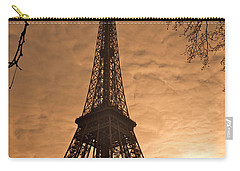 Eiffel Tower Sunset Carry-all Pouch
