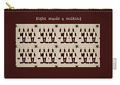 Eight Maids A Milking Carry-all Pouch