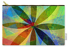 Carry-all Pouch featuring the painting Eight Petals by Michelle Calkins